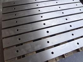 В наличии Ножи для ножниц от производителя 590х60х16, 625х60х25, 540х60х16 изготовление гильотинных в Туле и Москве производство, продажа. Ножи для дробилок. Изготовление и заточка промышленных ножей. Ножи в наличии. Тульский Промышленный Завод производст