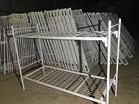 Кровати металлические, шикарный выбор для бытовок, строителей и тд.