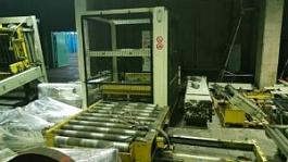 Комплект оборудования по подаче поддонов, укладки и обмотки пленкой AdvirMatic