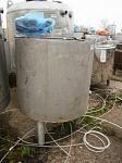 Емкость нержавеющая,объем — 0,35 куб.м., заквасочник ОЗУ-350, инв 394
