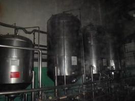 Емкость нержавеющая ЦКТ, объем -10 куб.м., рубашка, термос