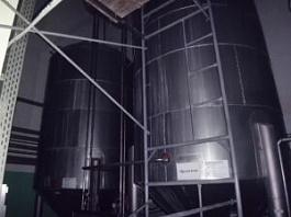 Емкость нержавеющая ЦКТ, объем -21,6 куб.м., рубашка, термос