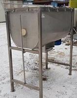 Смеситель сыпучих продуктов шнекового типа, объем чаши 400л