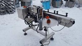 Этикетировочный автомат для нанесения самоклеющихся этикеток CVC300C (США)