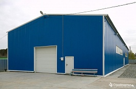 Строительство ангаров, складов, промышленных помещений