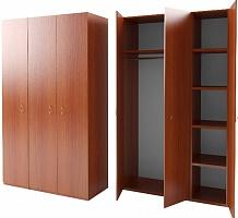 Двухстворчатые шкафы, Шкафы многосекционные для раздевалок, Шкаф с антресолью