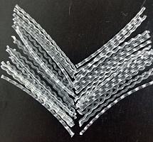 Фибра полипропиленовая Контур А (аналог вибры ПОЛИАРМ)