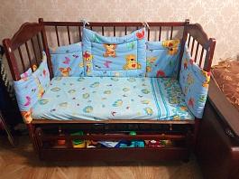 Кроватка детская - маятник